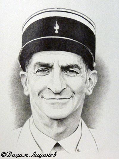 Портрет Луи де Фюнеса