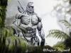 Главный герой из игры Crysis