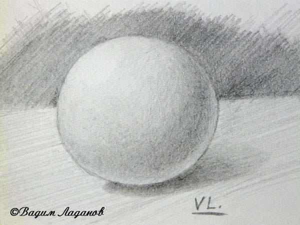 учимся рисовать натюрморт карандашом: