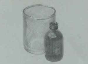 Как рисовать стеклянные вещи