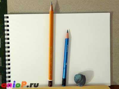 Простые карандаши и клячка