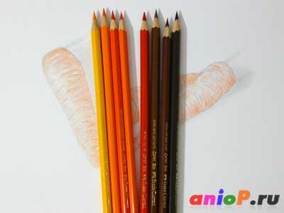 рисование моркови