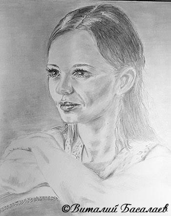Рисунок Виталия Басалаева