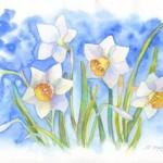 Курс «Цветы в Акварели»