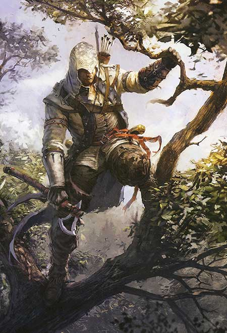 Концепт-арт к игре Assassin's Creed 3