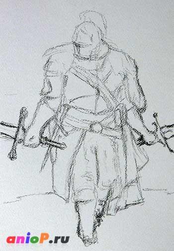 Рисунок Dark Souls