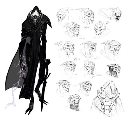 Фрагмент из артбука к игре Mass Effect