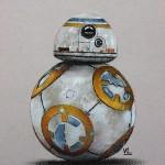 Рисуем робота BB-8 из Звездных Войн 7