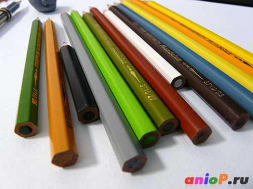 акварельные карандаши kooh-i-noor