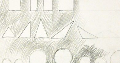 Основы рисунка. Часть 4 — классическая штриховка вокруг форм