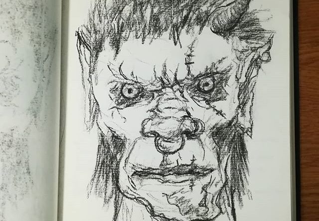 Послерабочее настроение. #рисунки #скетч #уголь #портрет #sketch #drawing #charcoal #рисование