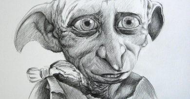 Портрет Добби из «Гарри Поттера»