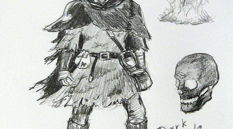 Персонаж из игры Dark Souls 2