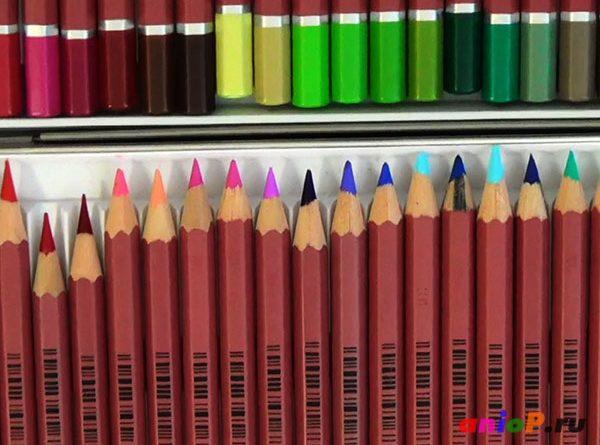 твердые карандаши