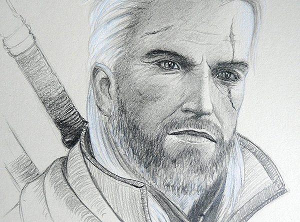 Ведьмак простым карандашом (drawing the Witcher)