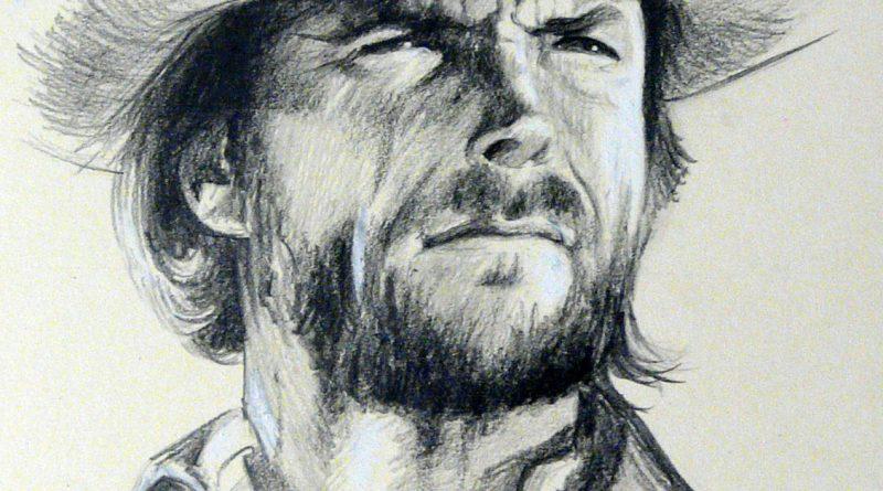 Портрет Клинта Иствуда