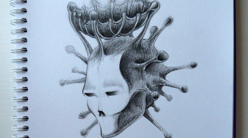 Коронавирус в простом карандаше